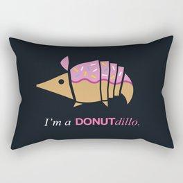 Armadillos Epidemy - Donut'dillo Rectangular Pillow
