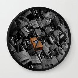 Locks Of Love. Wall Clock