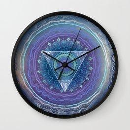 Ajna Third Eye Chakra Wall Clock
