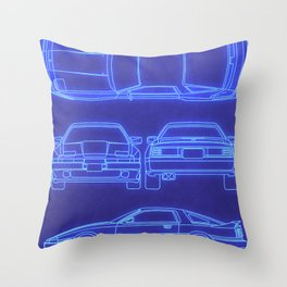 GR Supra Mk 3 Throw Pillow
