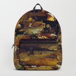 Bruegel the Elder The Triumph of Death Backpack