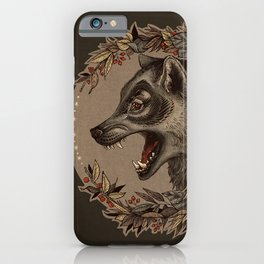 A Little Wolf Moon iPhone Case