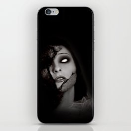 Even Angels Fall iPhone Skin