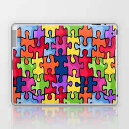 Jiggy puzzle Laptop & iPad Skin