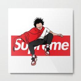 Supreme Akira Metal Print