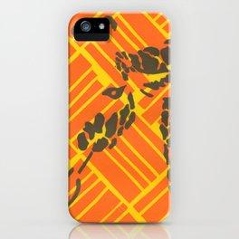 Screenprinted Giraffe iPhone Case