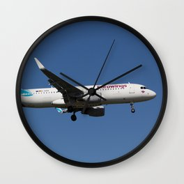 Eurowings Airbus A320 Wall Clock