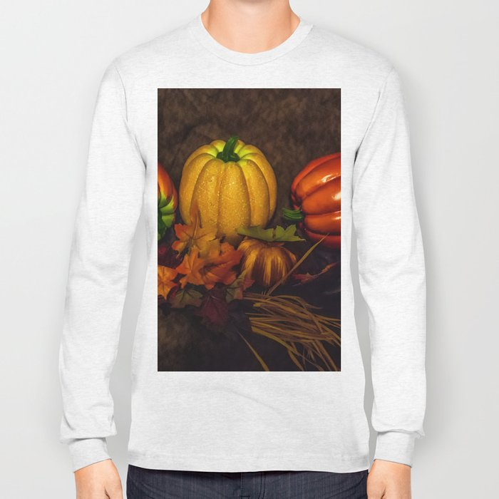 Autumn Pumpkins Long Sleeve T-shirt