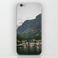norway iPhone & iPod Skins featuring Norway by Michelle McConnell