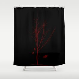the last days Shower Curtain
