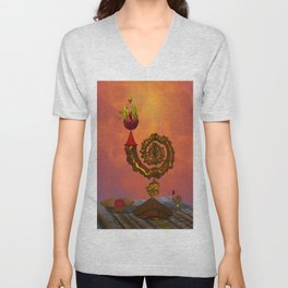 The Wizard's Table Unisex V-Neck