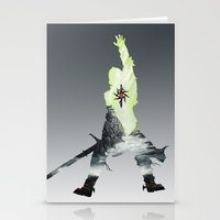 dragon age inquisition Stationery Cards featuring Dragon age inquisition by Ioana Muresan