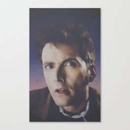"""The Doctor """"What?!"""" Canvas Print"""