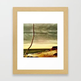 get to the point Framed Art Print