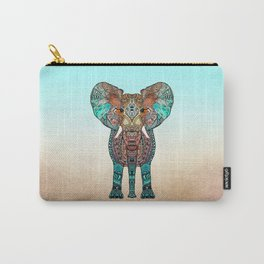 BOHO SUMMER ELEPHANT Carry-All Pouch