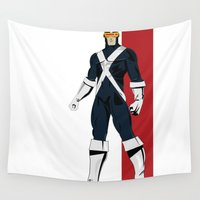 cyclops Wall Tapestries featuring Cyclops by Andrew Formosa