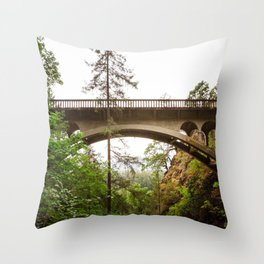Over or Under Throw Pillow