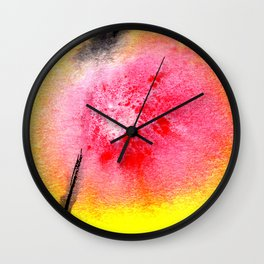 flower VII Wall Clock