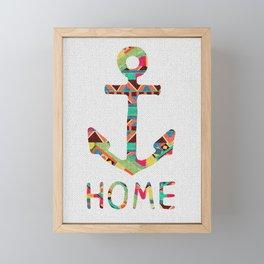 you make me home Framed Mini Art Print