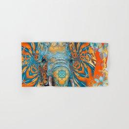 The Happy Blue Elephant Hand & Bath Towel