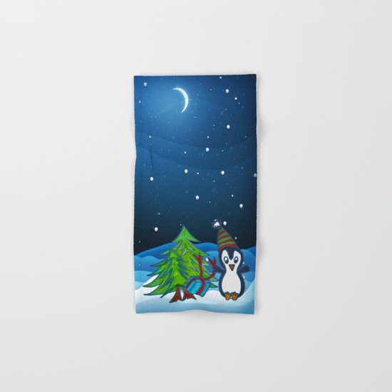 Christmas Gifts | Christmas Spirit | Kids Painting Hand & Bath Towel