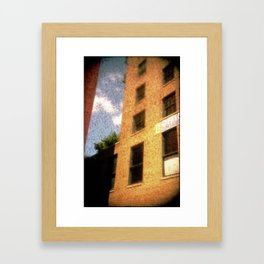 The City - Walls #2 Framed Art Print