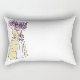 Madame Elephant Rectangular Pillow