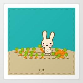 Bunnie ♥ Art Print