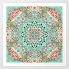 Jungle Kaleidoscope 2 Art Print