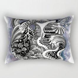 The Heart of the Sea Rectangular Pillow