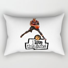 Damian Lillard Rectangular Pillow