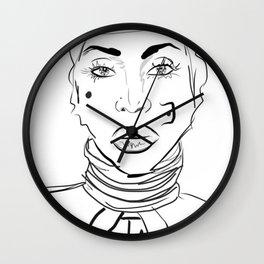 Baduism Wall Clock