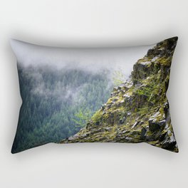 Rocky Cliff Face Rectangular Pillow