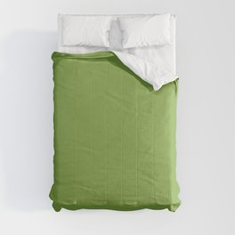 Greenery green | Solid Colour Comforters