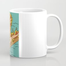 Flaming Surfer Girl Mug