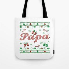 Papa Christmas Tote Bag