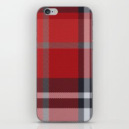 Colors Of Christmas (Plaid 4) iPhone Skin