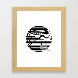 avocet Framed Art Print