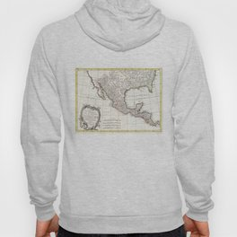 Vintage Map of Mexico (1771) Hoody