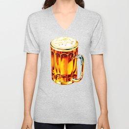 Beer Pattern 2 Unisex V-Neck