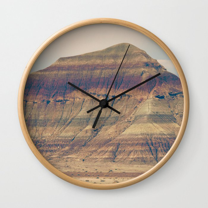 Petrified Desert Wall Clock