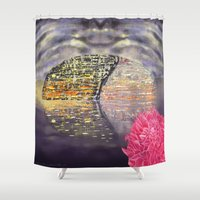 theatre Shower Curtains featuring China's National Theatre by TheGreatPretender