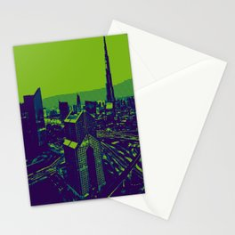 Kryptonite Skyscrapers concrete jungle  Stationery Cards