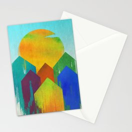 The West Aglow Stationery Cards