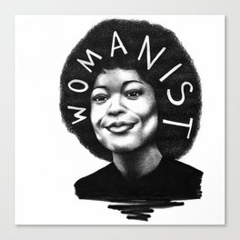 Alice Walker Canvas Print