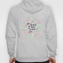 Perfect Love on White Hoody