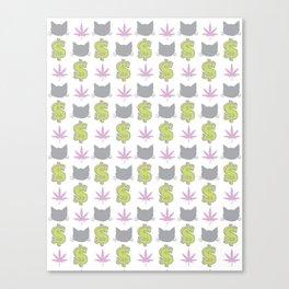 PMW Pattern Canvas Print