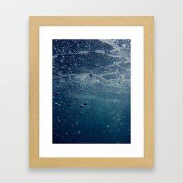 UNDERWATER I. Framed Art Print