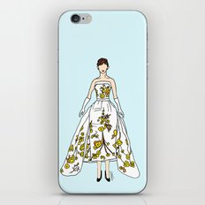 Audrey Hepburn Vintage Retro Fashion 2 iPhone & iPod Skin