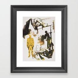 Drawn Restraint (Present) Framed Art Print